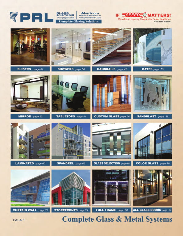 2015 Architectural Glass & Metal Catalog