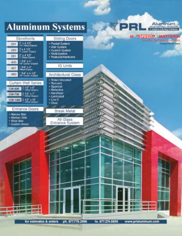 2016 Aluminum Storefronts Catalog