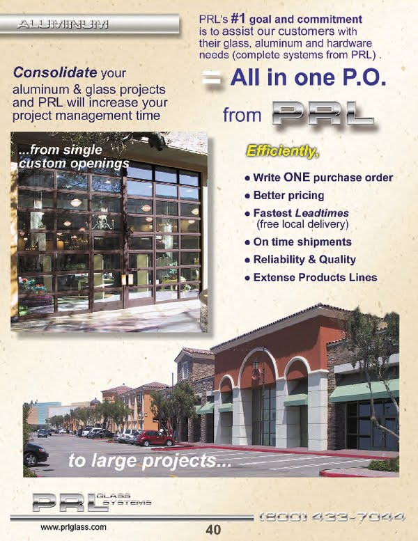 aluminum storefront systems