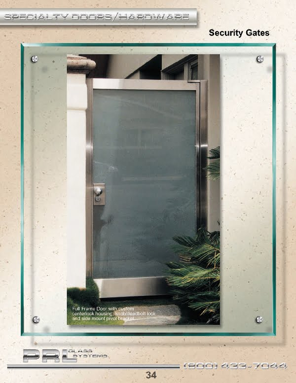 We have the ability to manufacture aluminum or metal clad gates and full framed clad doors in various finishes.