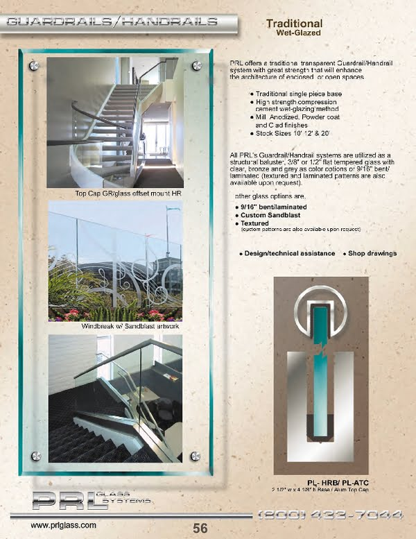 Complete Glass Guardrails and Glass Handrail Systems