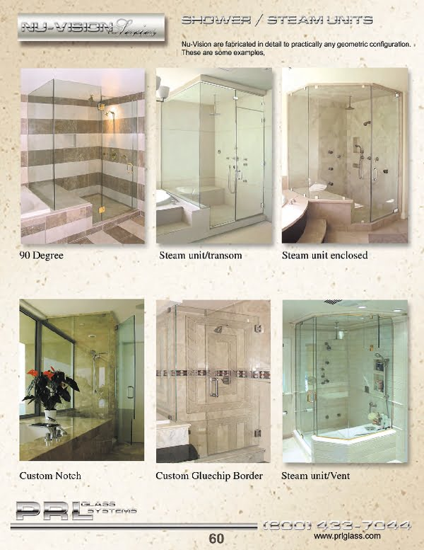 We stock an extensive line of shower door units, hardware and components with a variety of different types of temped glass