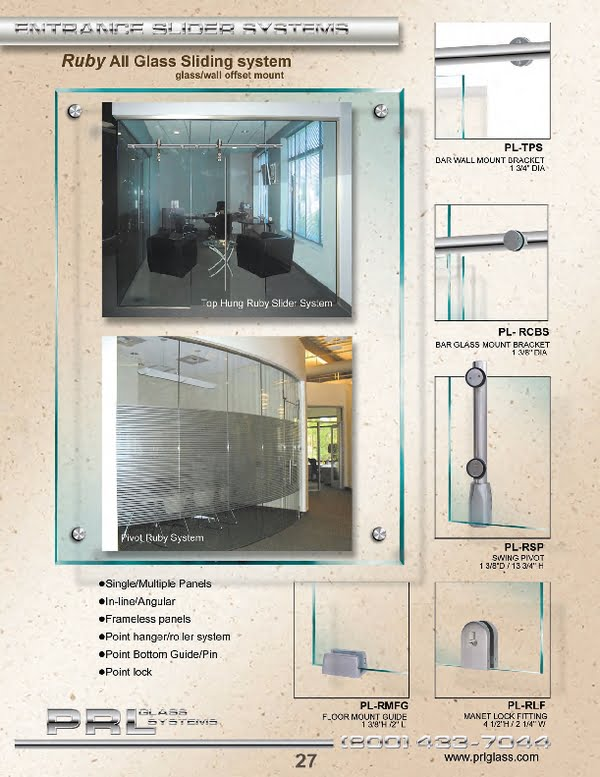Interior Glass Sliding and Pivot Doors